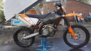 ktm 450 exc r 450 cm 2008 kokkola motorcycle nettimoto