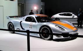 porsche supercar concept porsche 918 rsr concept 2011