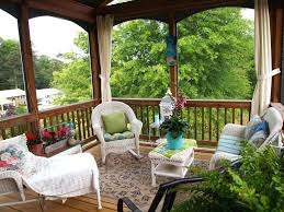 patio ideas small enclosed porch decorating ideas small front