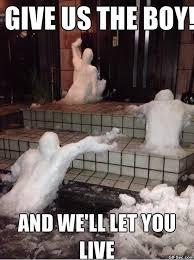 Funny Snow Meme - zombie snow viral viral videos