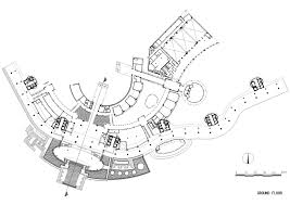 seamarq hotel richard meier partners archdaily ground floor plan