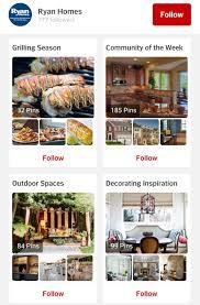 Home Builder Website Design Inspiration by 3 Home Builders Rocking Pinterest