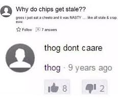 What Is A Meme Yahoo Answers - thog yahoo answers know your meme