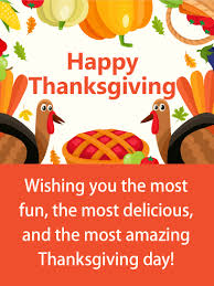 colorful thanksgiving card the turkeys are coming are you