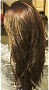 hairstyles with layered in back and longer on sides long hair without layers back view cut color style runway