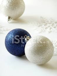 blue and silver christmas ornaments stock photos freeimages com