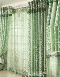sale striped chenille blackout green curtains chs011 merge jpg