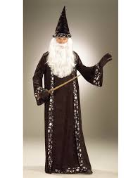wizard costume wand wizard hat and robe halloween accessory walmart com
