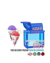snow cone rental snow cone machine rental san diego 5 rating amazing price