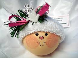 Baptism Christmas Ornament 114 Best Snowball Ornaments Images On Pinterest Snowball Hand