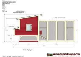 chicken coop plans free pdf with chicken coop building blueprints