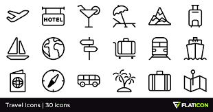 travel icons images Travel icons 30 free icons svg eps psd png files png