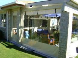 Outdoor Canvas Curtains Outdoor Blinds Curtains Dwights Canvas Shelter Alu Lite Nz