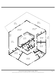 Octagon Shaped House Plans Hexagon Floor Plans Home Design Inspirations