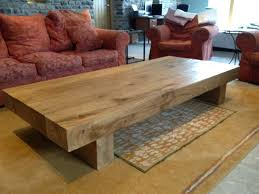 Extra Large Square Coffee Tables - coffee table a 4 beam arabica 2m long rustic style large square