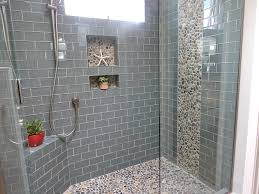 Shower Room by Small Shower Room Ideas With Low Glass Wall Divider Combined With