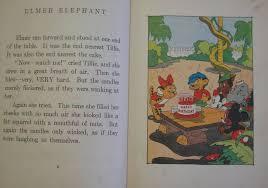 the 1936 elmer elephant book p 7 in c e u0027s disney studio pt 10