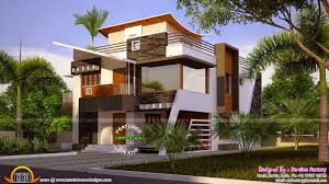 modern residence house plan ideas in 3d and 2d drawings home