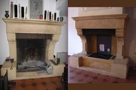 cheminee ethanol style ancien fabrication rénovations de cheminées sur mesure à toulon et