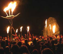 21 06 2004 summer solstice druids performing pagan rituals for