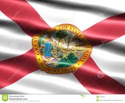 Flags Of Florida Flag Of The State Of Florida Stock Illustration Illustration Of