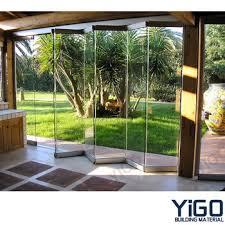 Glass Bifold Doors Exterior Folding Glass Doors Themodjo