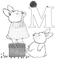 max and ruby coloring pages printable get coloring pages