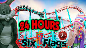 St Louis Six Flags Hours 24 Hour Challenge At Worlds Biggest Six Flags Hide U0026 Seek Worlds