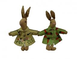 easter rabbits decorations easter bunny decorations by gisela graham gifts from handpicked