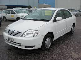 price of toyota corolla 2003 2003 toyota corolla x ltd nze121 3195226 used car from