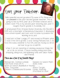best 25 teacher introduction letter ideas on pinterest teacher