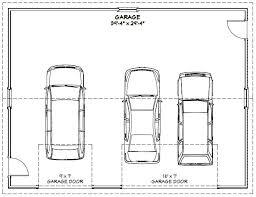 size of a three car garage best 3 car garage dimensions with regard to 40x30 3 9923