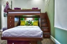 Double Bunk Beds With Stairs Foter - Double and twin bunk bed