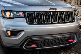 light blue jeep grand cherokee 2017 jeep grand cherokee trailhawk summit first look review