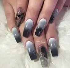 gloss design on matte black nails love it νύχια pinterest