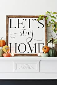 thanksgiving mantel stay home fall mantel