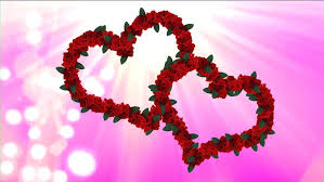 roses and hearts wedding two hearts from animated roses two animated roses