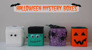 halloween mystery boxes almost supermom