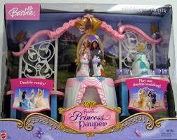 barbie princess pauper double wedding vanity