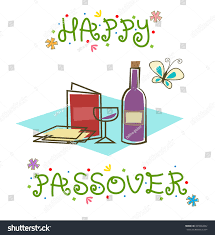 passover items happy passover sign stylized passover sign stock vector 395664382