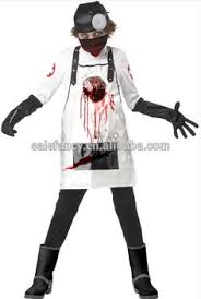 Scary Boy Halloween Costumes Open Heart Surgeon Scary Kids Doctor Costume Unique Halloween