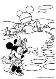 minnie mouse coloring picture mickey mouse u0026 friends colouring