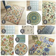 indoor outdoor rugs i m loving it sweet parrish place use outdoor rugs in the house