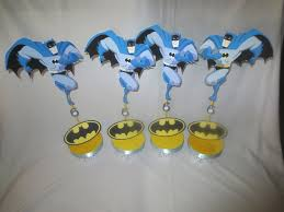 batman centerpieces batman centerpiece cupcake topper