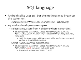 android sql sqlite cursors adapters and loaders with content providers as