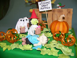 it u0027s the great pumpkin charlie brown cakecentral com