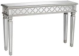 Mirrored Console Table Divonne Classical Silver Mirrored Console Table 7y953 Www
