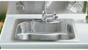 Kitchen Sink Basin by Staccato Single Basin Self Rimming Kitchen Sink Staccato