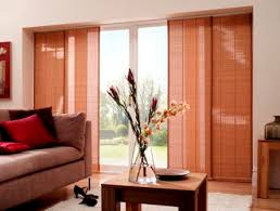 Panel Curtain System Sliding Panel Blinds With Track System Blinds Express