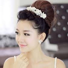 wedding hair bands rhinestone pearl wedding hair band ebuy emart